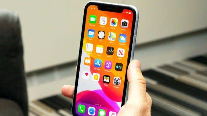 Ilustrasi Apple iPhone