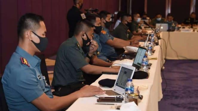 VIVA Militer: TNI dan AS Gelar Latihan Bersama TTX Gema Bhakti 2020