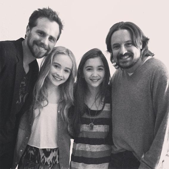 """Girl Meets World"" Rider Strong, Sabrina Carpenter, Rowan Blanchard and Will Friedle"