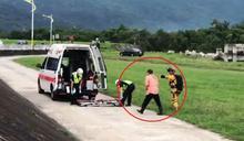 獨攀八通關古道手臂遭石割傷求救 空勤隊完成救援