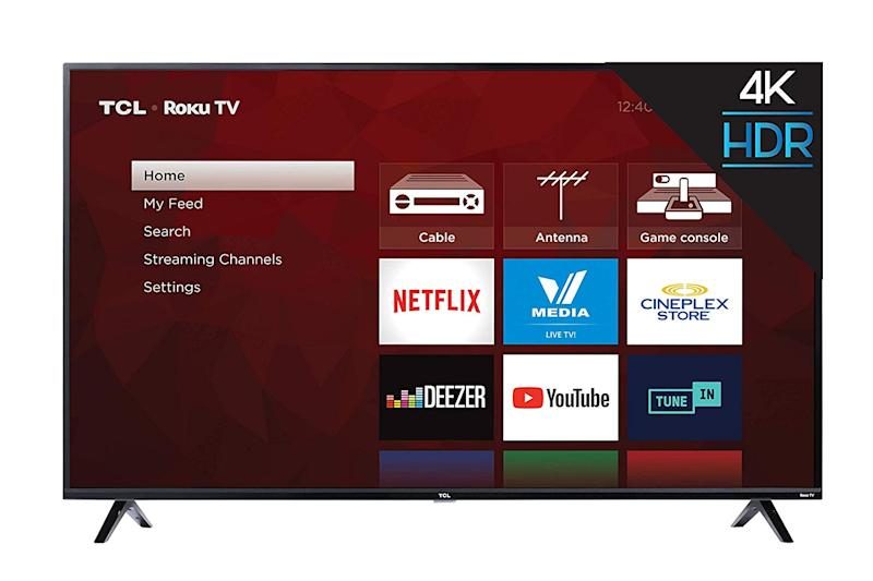 TCL 65S425-CA 4K Ultra HD Smart LED Television (2019), 65""