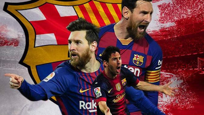Barcelona - Lionel Messi 2 (Bola.com/Adreanus Titus)