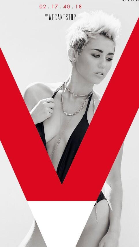 Miley Cyrus 'Can't Stop' With the Sexy Photos