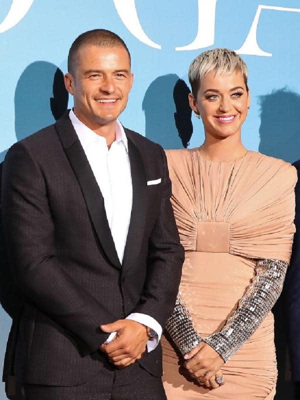 Katy Perry dan Orlando Bloom (Valery HACHE / AFP)