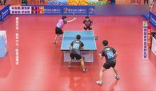 東奧模擬賽桌球登場 林昀儒、鄭怡靜混雙戰男雙