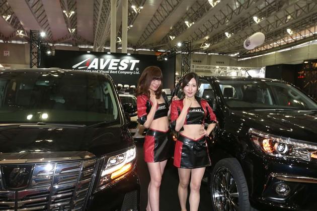 2018東京改裝車展Show Gril