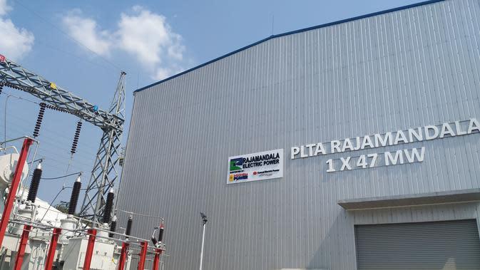 Pembangkit Listrik Tenaga Air (PLTA) Rajamandala berkapasitas 47 MW (Megawatt) yang telah resmi beroperasi, Jumat (12/7/2019).