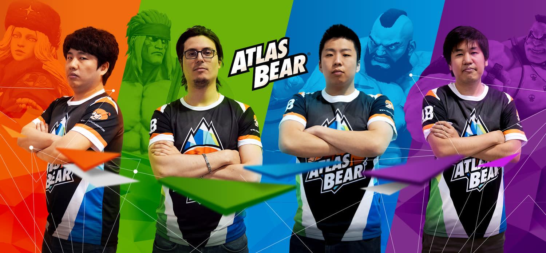 印尼戰隊Atlas bear解散,今年卡盃第9「StormKUBO」(右一)慘遭失業。圖:翻攝Atlas bear官網
