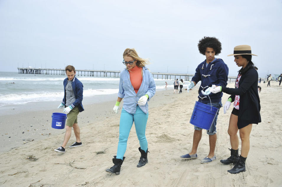 """Teen Beach Movie"" - Kent Boyd, Mollee Gray, Jordan Fisher, Chrissie Fit"