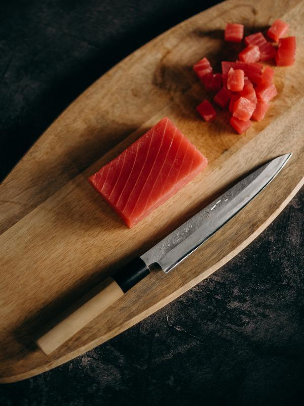 Ilustrasi ikan tuna. (Photo on Pexels)