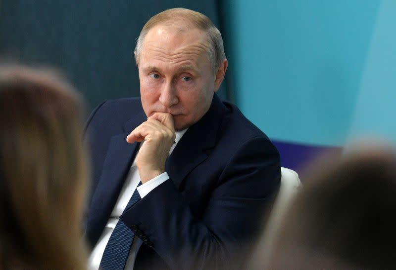 Putin tetap rahasiakan peran masa depannya