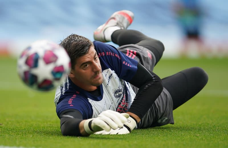 Courtois pulls out of internationals with hip injury