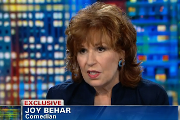 Joy Behar Rips Into Elisabeth Hasselbeck for 'Hate-Filled Remark' About Rosie O'Donnell (Video)