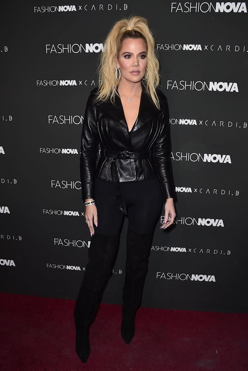 Khloe cuts quite a different figure these days. Photo: Getty Images