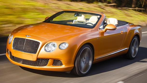 Bentley GT Speed Convertible, top down on the mountain top: Motoramic Drives