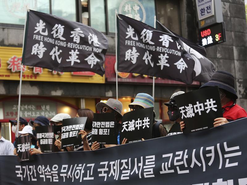 中國人權議題 站邊香港、維吾爾族