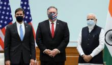美國、印度簽署衛星數據分享協議 圍堵中國軍事擴張野心