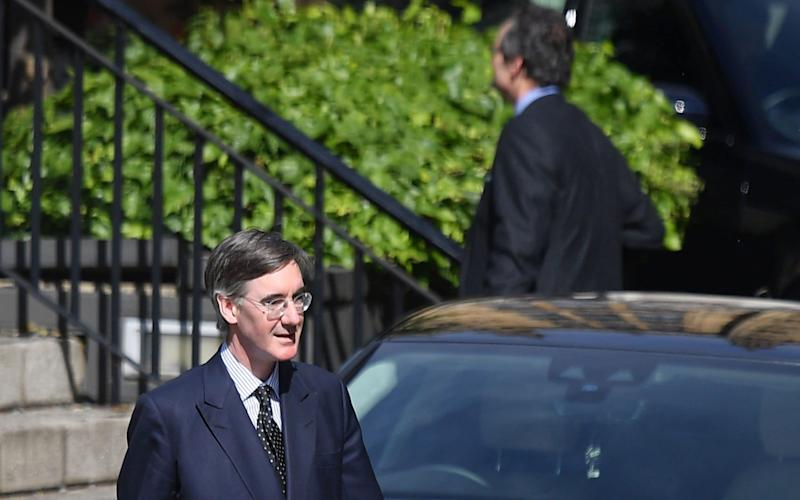 Jacob Rees-Mogg was on the receiving end of some colleagues' wrath - Justin Tallis/AFP