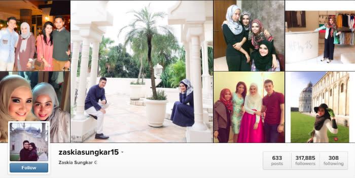 zaskia sungkar instagram
