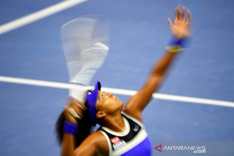 Osaka tundukkan rekan senegara di babak pertama US Open