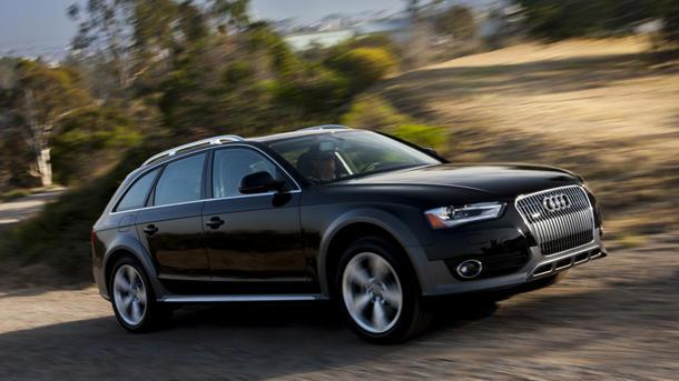 2013 Audi allroad, A4/S4 and A5/S5: Motoramic Drives