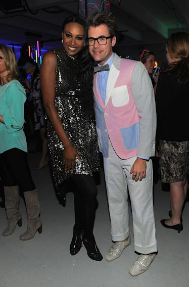 Cynthia Bailey and Brad Goreski