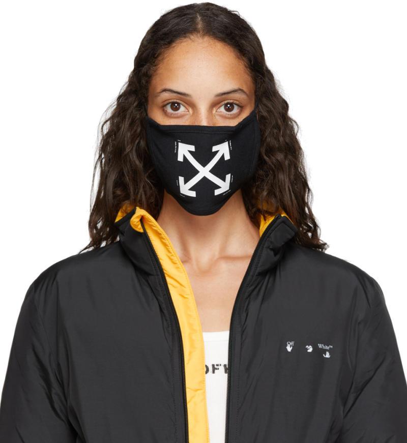 Off-White Black Arrows Mask
