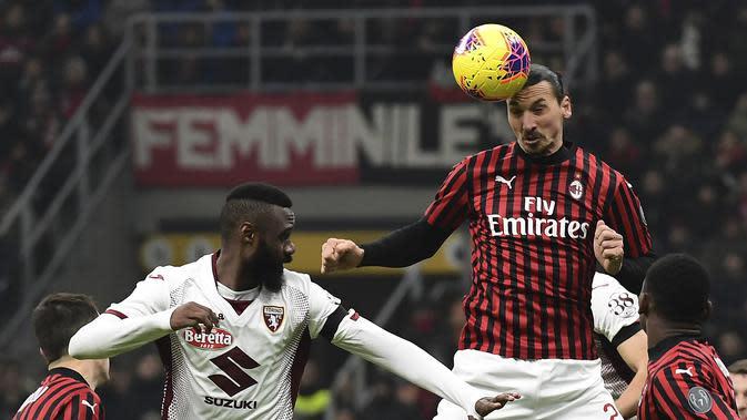 Kecewa Keputusan Wasit, AC Milan Rilis Video Proses Gol Ibrahimovic