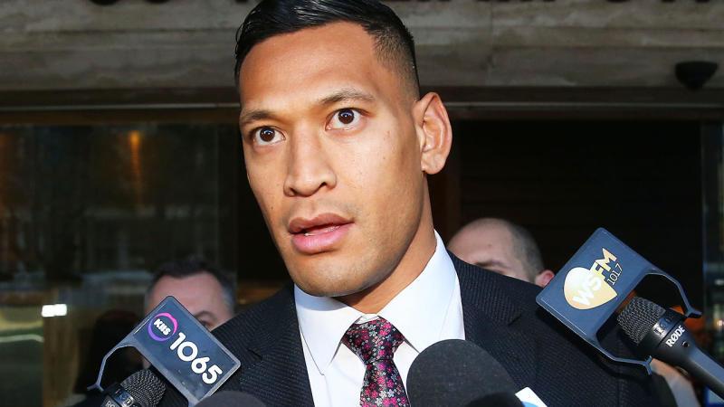 Rugby Australia make astonishing Israel Folau claim