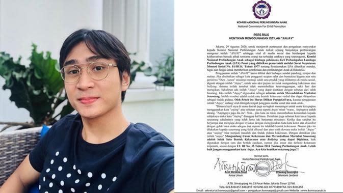 6 Fakta Kasus Anjay Bermakna Kasar, Lutfi Agizal Sebut Perjuangkan Anak Bangsa (sumber: Instagram.com/lutfiagizal)