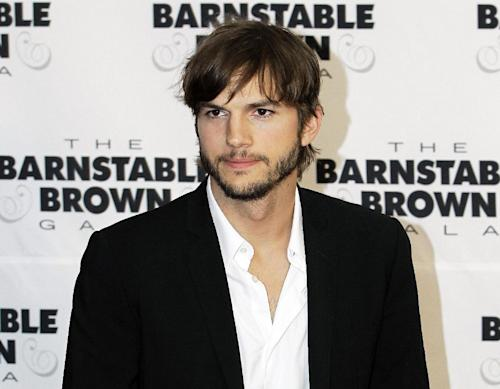 FILE - This May 4, 2012 file photo shows actor Ashton Kutcher at the Barnstable Brown Derby party in Louisville, Ky. Kutcher's production company Katalyst Media has settled a lawsuit against the California Department of Motor Vehicles over a planned reality show, records filed in LA Superior Court on Friday April 26, 2013 show. (AP Photo/Darron Cummings, file)