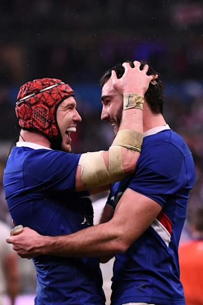 Bernard Le Roux partnered Paul Willemse in France's second row for the first time against England