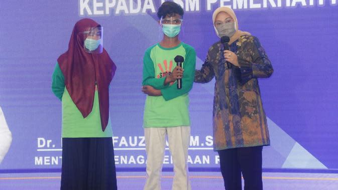 Kemnaker Beri Penghargaan kepada 23 LSM Pemerhati Pekerja Anak (Foto:Kemnaker)