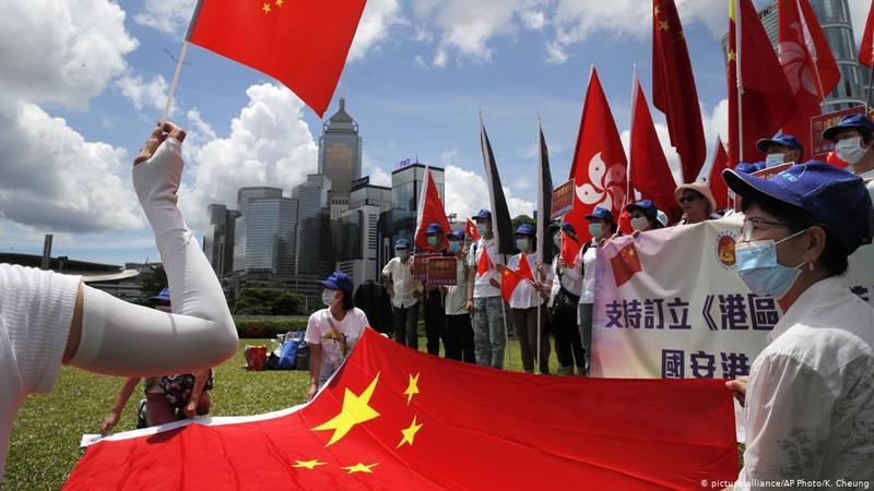"""德語媒體:""""港版國安法說明北京的承諾不值得信賴"""""""