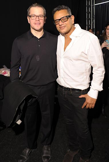 Matt Damon, Naeem Khan