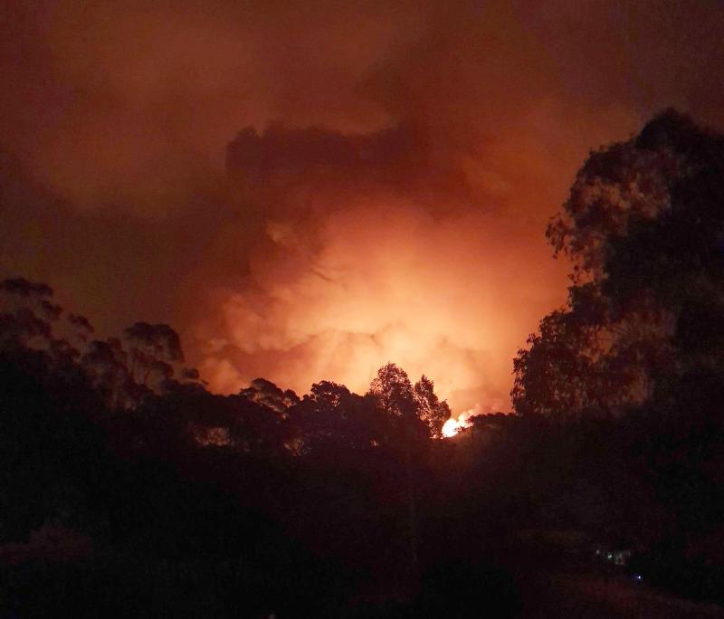 Australia Wildfires Village