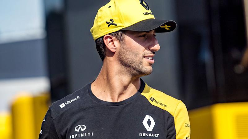 Daniel Ricciardo was demoted from seventh to 11th at the French Grand Prix. Pic: Getty