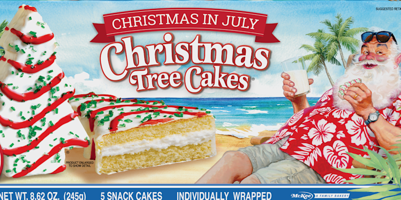 Little Debbie Is Selling Its Christmas Tree Cakes In July ...