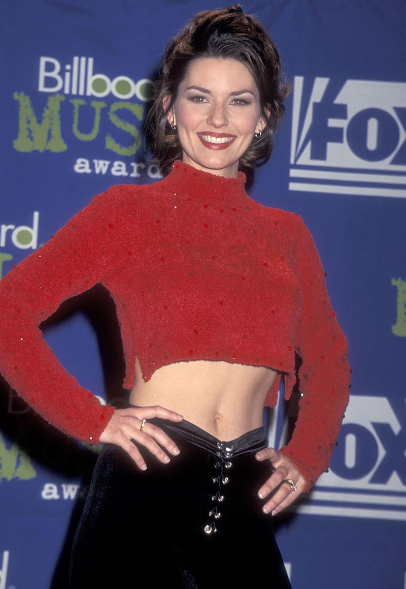 Shania Twain in 1995. The Timmins, Ont. native would become one of the top-selling country artists of all time. (Photo by Ron Galella, Ltd./Ron Galella Collection via Getty Images)