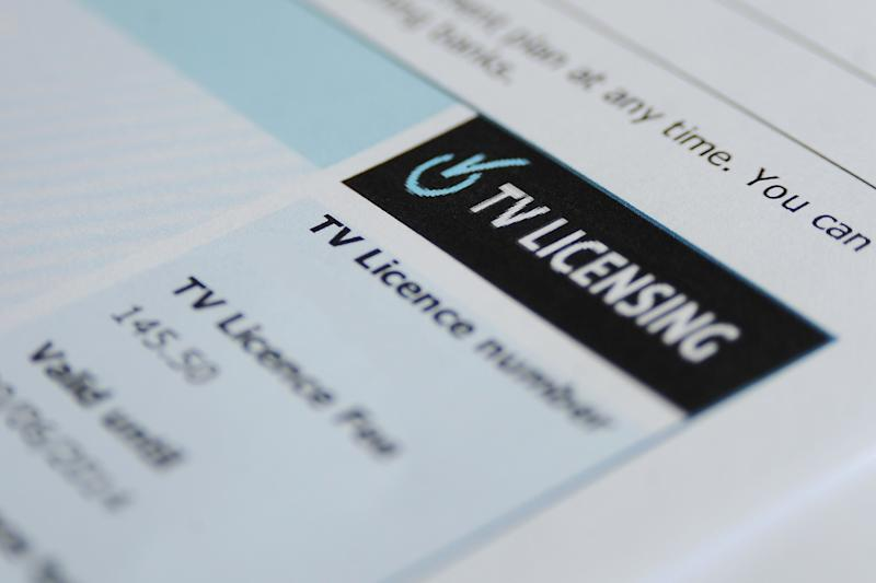 PLEASE NOTE TV LICENCE NUMBER HAS BEEN REMOVED BY PA PICTURE DESK File photo dated 25/03/14 of a TV licence. Pensioners will struggle with the process of buying a TV licence, a charity has warned, as it criticised the BBC's plans for home visits.