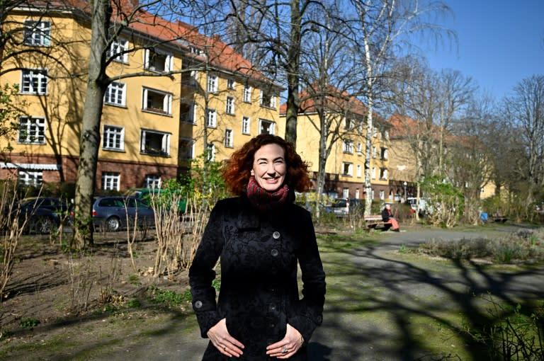 Comedian Cornelia Schoenwald performed a filmed reading of a classic of German children's literature