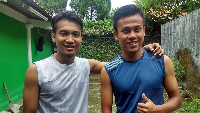 Sahrul Kurniawan (kanan). (Bola.com/Zaidan Nazarul)