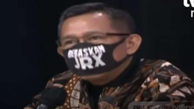 Pakai Masker 'Bebaskan JRX', Eep: Kebebasan Berbicara Harus Ditegakkan