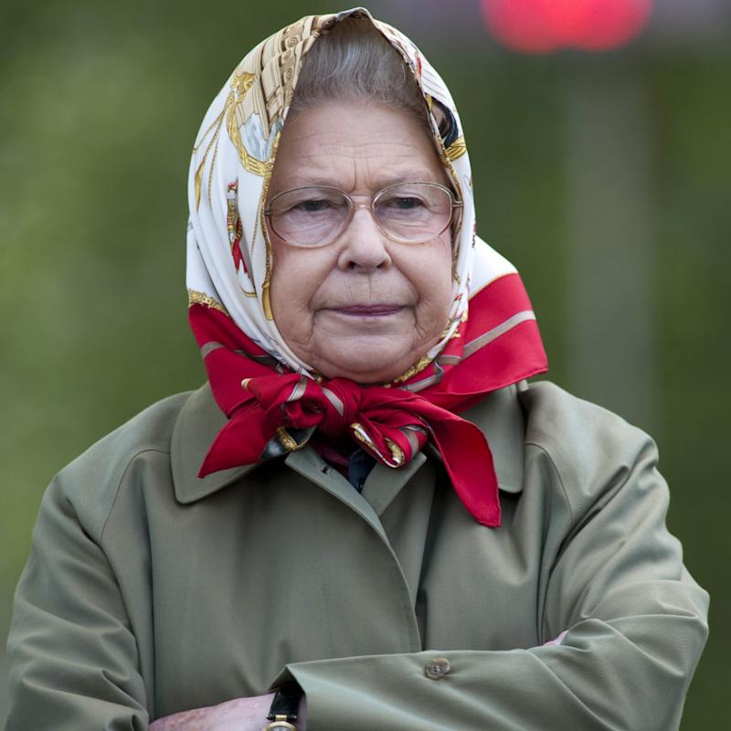 Queen Elizabeth Ii At The Royal Windsor Horse Show. (Photo by Antony Jones/UK Press via Getty Images)