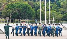 國家安全教育日4‧15辦活動 5大紀律部隊表演中式步操