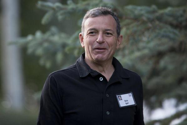 Disney CEO Bob Iger Pay Rises 80 Percent to $65.6 Million