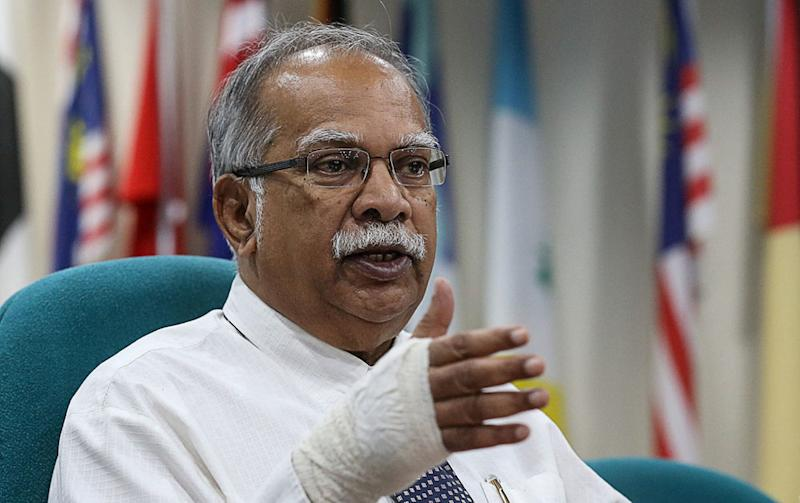 Penang Deputy Chief Minister P. Ramasamy during a press conference at Komtar, George Town December 7, 2018. — Picture by Sayuti Zainudin