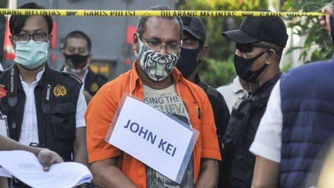 Berkas Kasus John Kei Diserahkan ke Kejaksaan