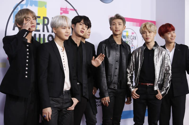 Big Hit Entertainment is looking to cash in on BTS' global success and is expected to list on the stock market come October. — Reuters pic