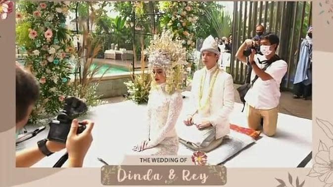 Dinda Hauw dan Rey Mbayang. (Instagram/anakbandsctv__official)